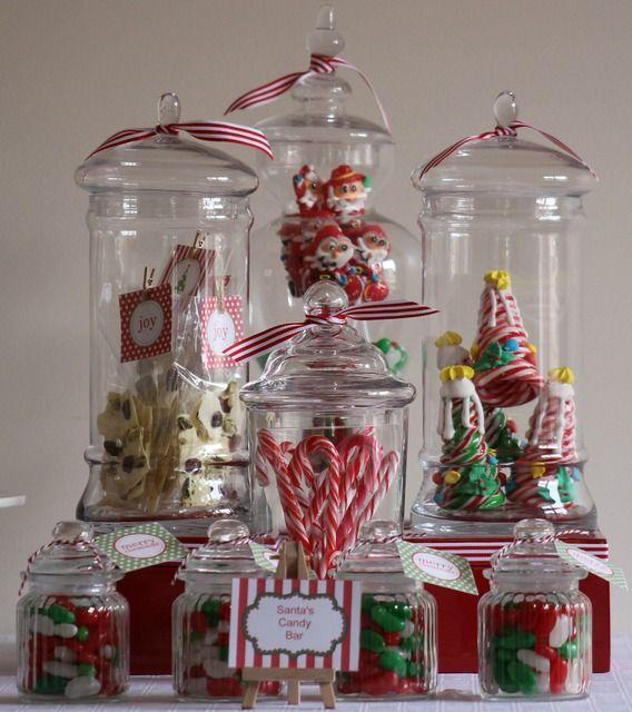 Christmas Candy Jars Something Borrowed Hire