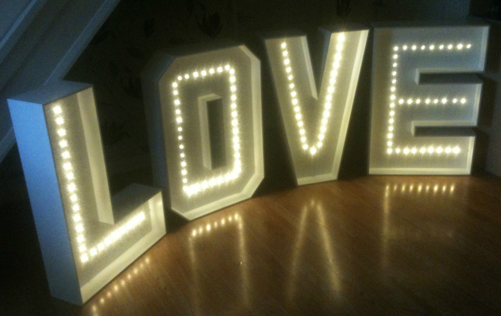 Large Letters For Sale Interesting Giant Love Letters West Midlands Review